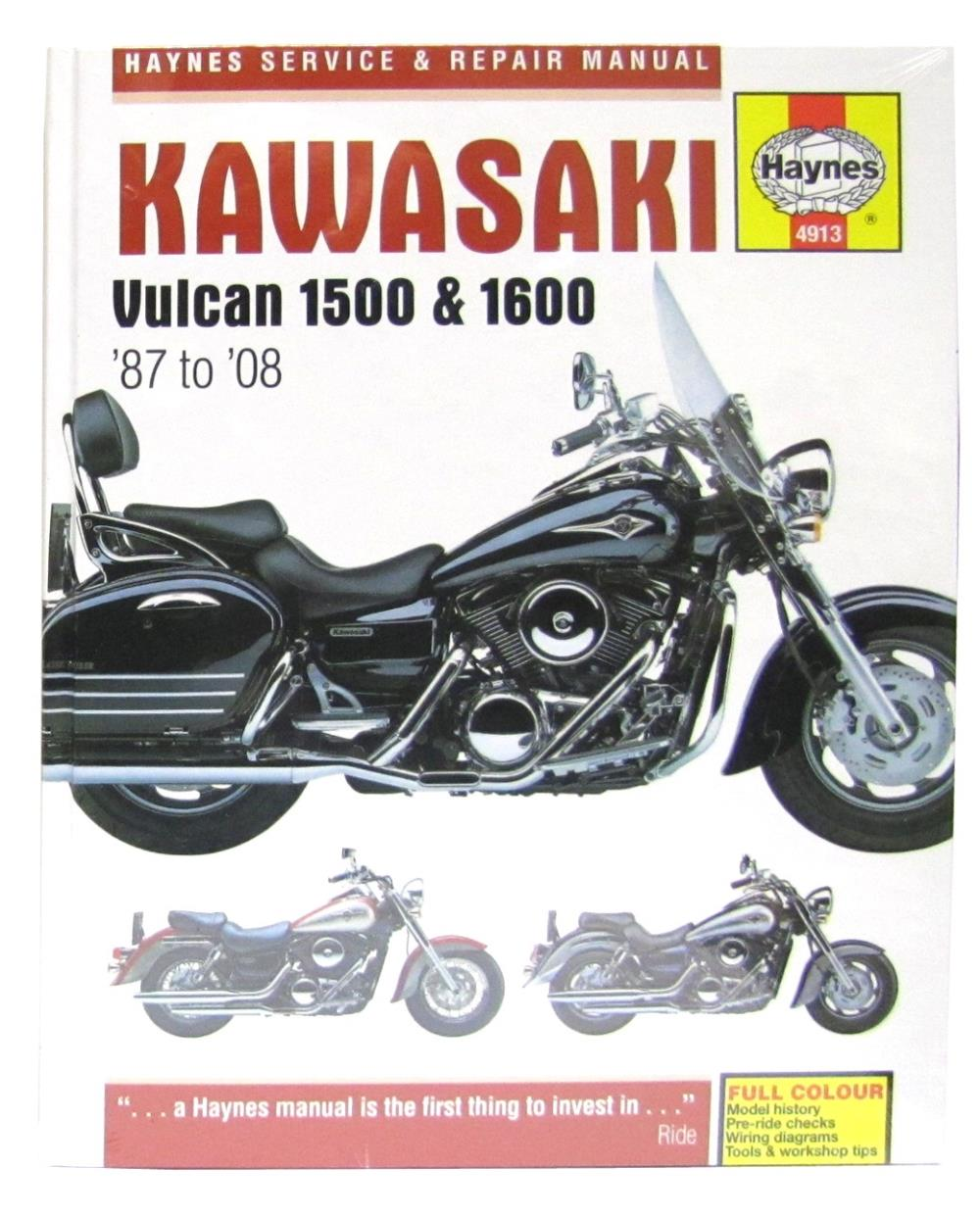 hight resolution of image is loading manual haynes for 1992 kawasaki vn 1500