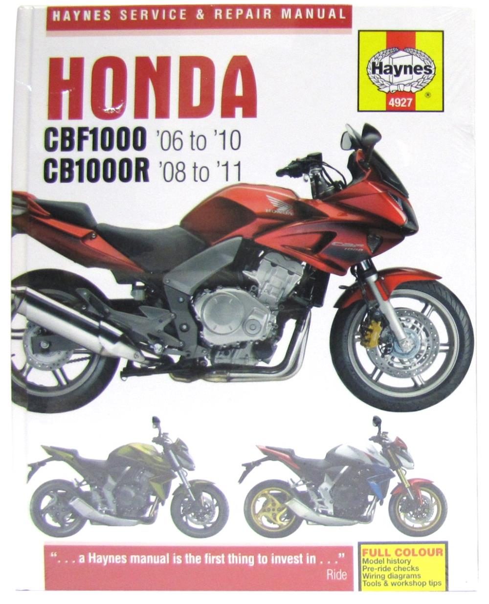 medium resolution of image is loading manual haynes for 2011 honda cb 1000 rab