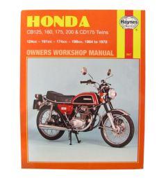 details about workshop manual honda cb125 70 71 cb200 74 78 cb175 70 75 cd175 67 78 [ 1200 x 1200 Pixel ]