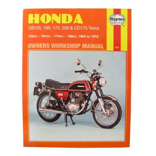 small resolution of image is loading workshop manual honda cb125 70 71 cb200 74