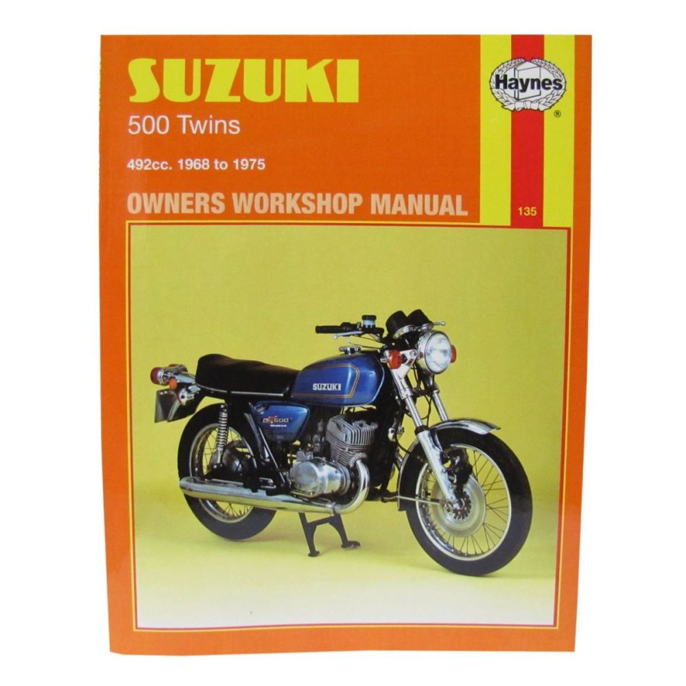 medium resolution of image is loading workshop manual suzuki t500 68 75 gt500a 76