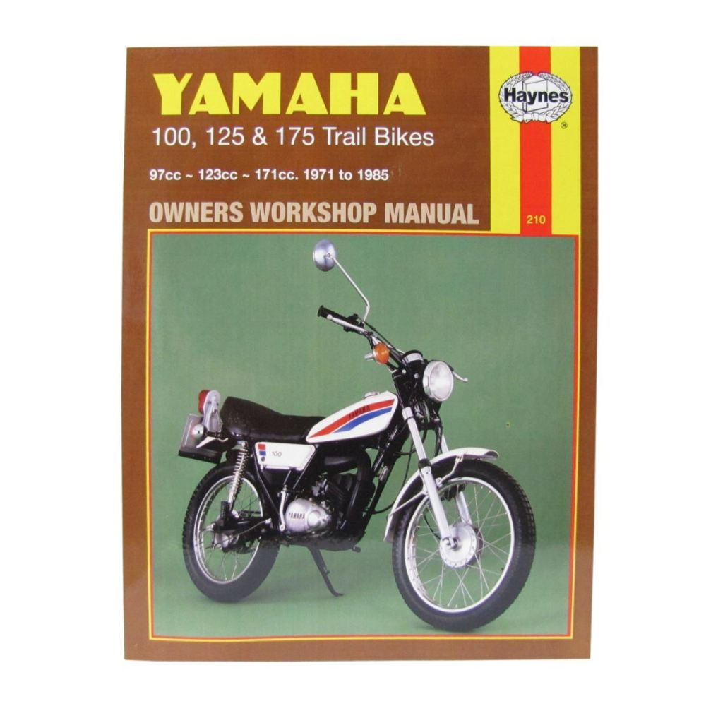 medium resolution of image is loading workshop manual yamaha dt100 76 83 dt125 mx
