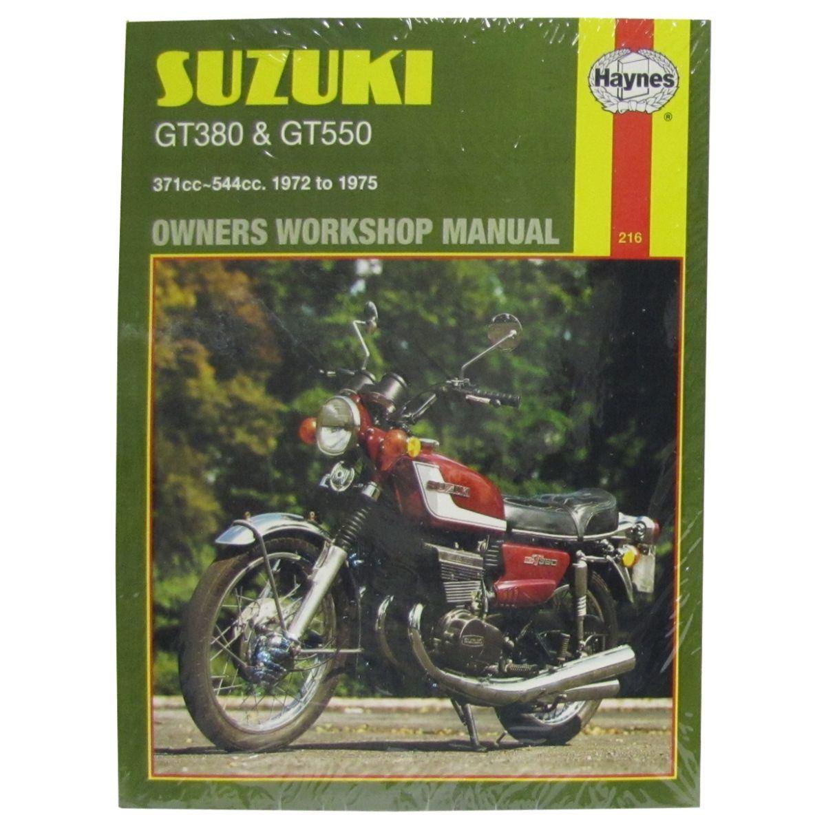 hight resolution of workshop manual suzuki gt380 1972 1975 gt550 1972 1975