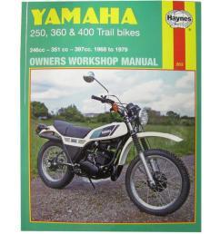image is loading workshop manual yamaha dt250 75 79 rt360 [ 1200 x 1200 Pixel ]