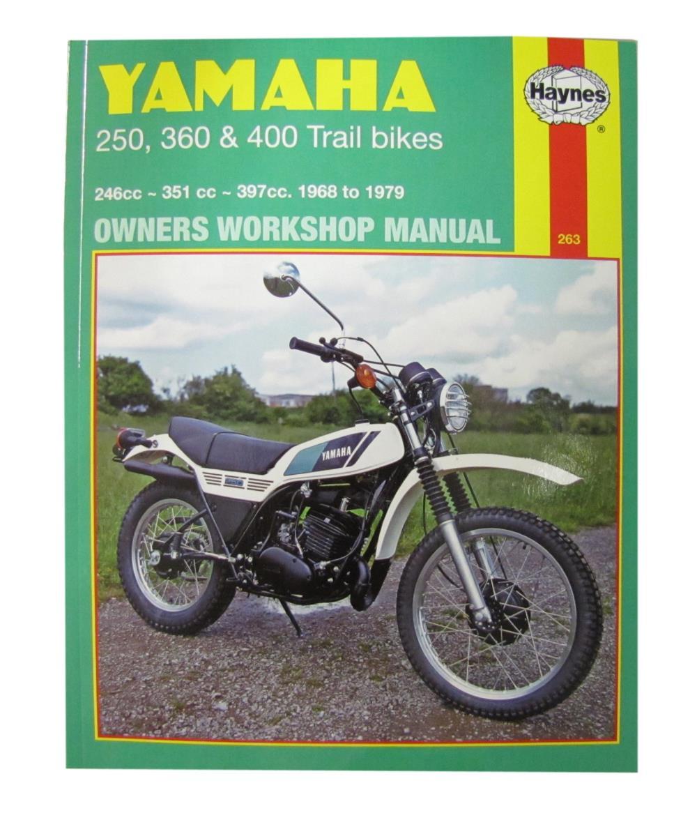 medium resolution of image is loading workshop manual yamaha dt250 75 79 rt360
