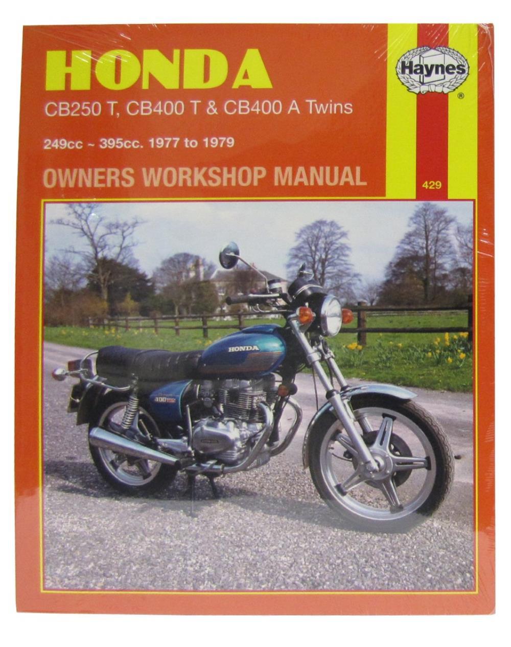 hight resolution of workshop manual honda cb250t cb400t cb400a twin
