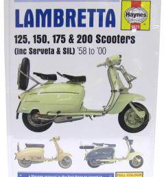 image is loading manual haynes for 1967 lambretta li 125 [ 1200 x 1200 Pixel ]
