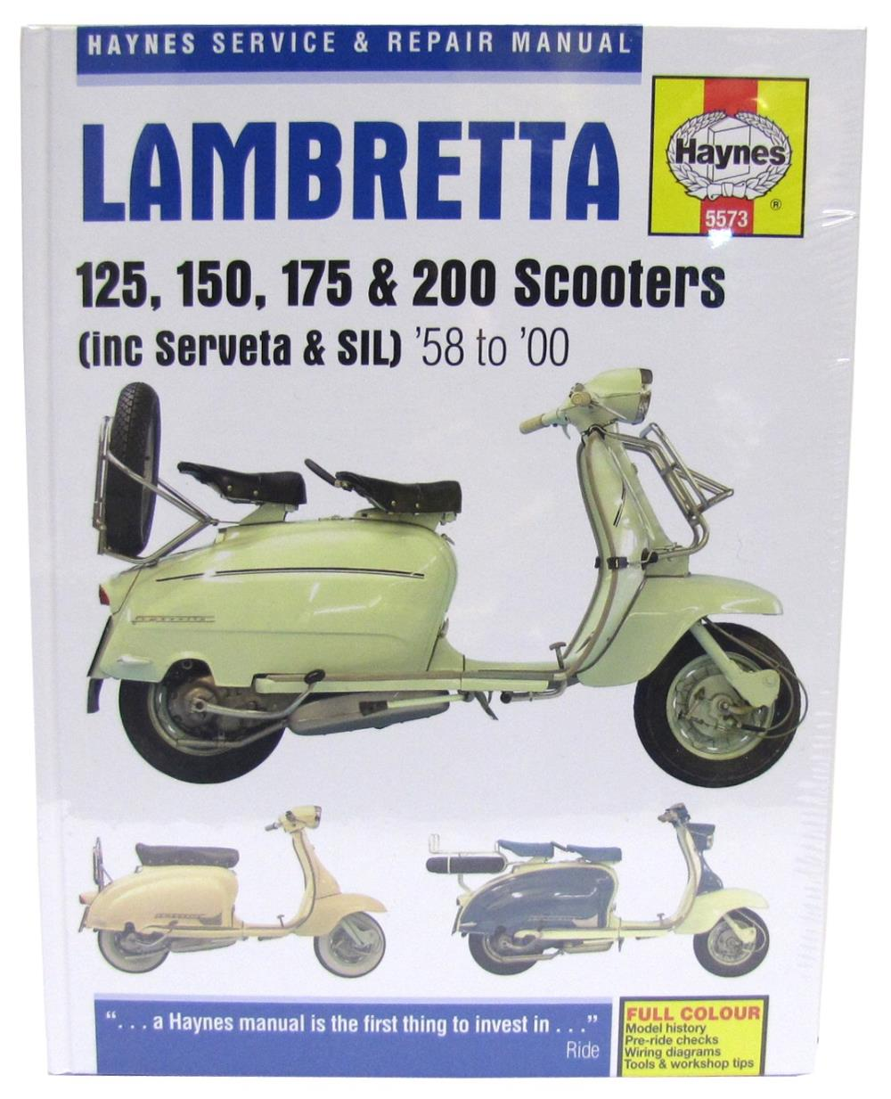hight resolution of image is loading manual haynes for 1967 lambretta li 125