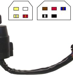 image is loading ignition switch yamaha dt175mx 9 wires [ 1200 x 1200 Pixel ]