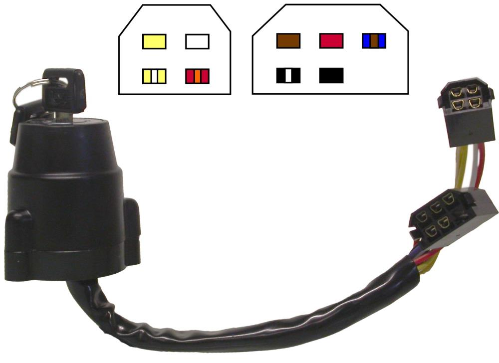 hight resolution of image is loading ignition switch yamaha dt175mx 9 wires