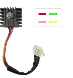 rectifier honda 4 wire type ideal replacement for c90 ebay 4 wire rectifier wiring [ 1200 x 1200 Pixel ]