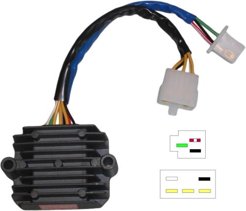 small resolution of image is loading regulator rectifier honda cb750 cb900 dohc 8 wires
