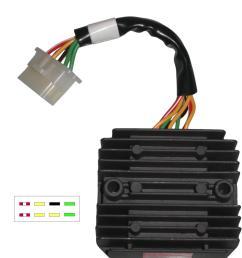 image is loading regulator rectifier honda gl1100 gl1200 8 wires sh541c  [ 1200 x 1200 Pixel ]