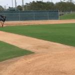 3B - Ground ball - Medium speed - Ball to fielder's right - Average to above-average speed runner
