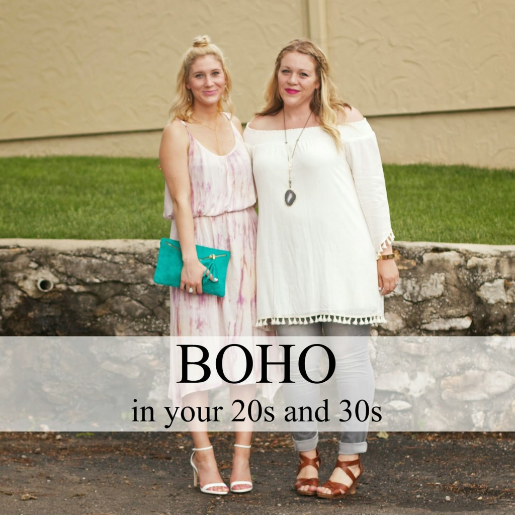 BOHO IN YOUR 20S AND 30S.