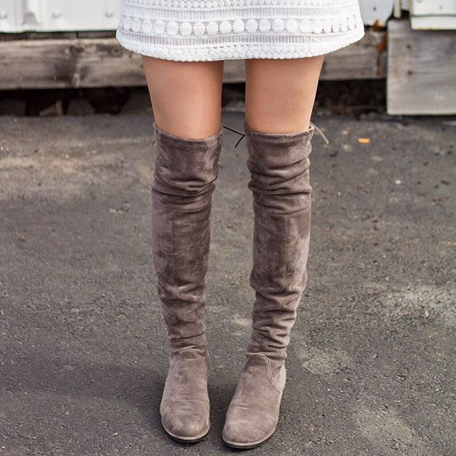 The Best Stuart Weitzman Over-the-Knee Boot Dupes (Under $100!)