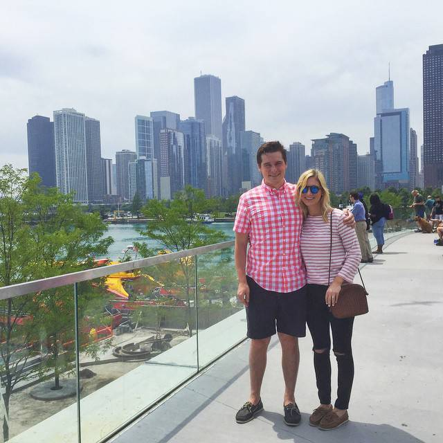 Navy Pier View of Chicago Skyline