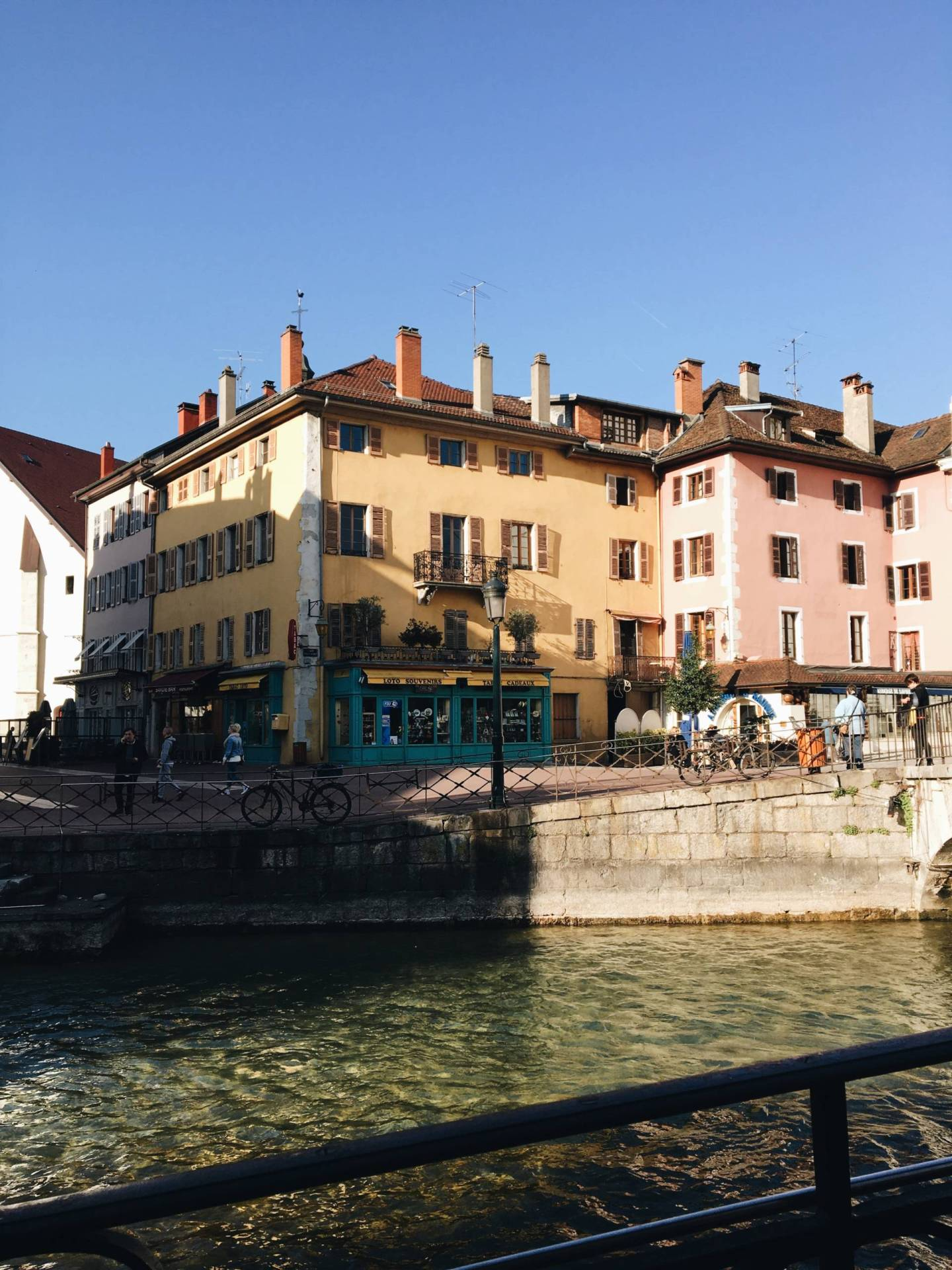 Spring Day In Annecy France