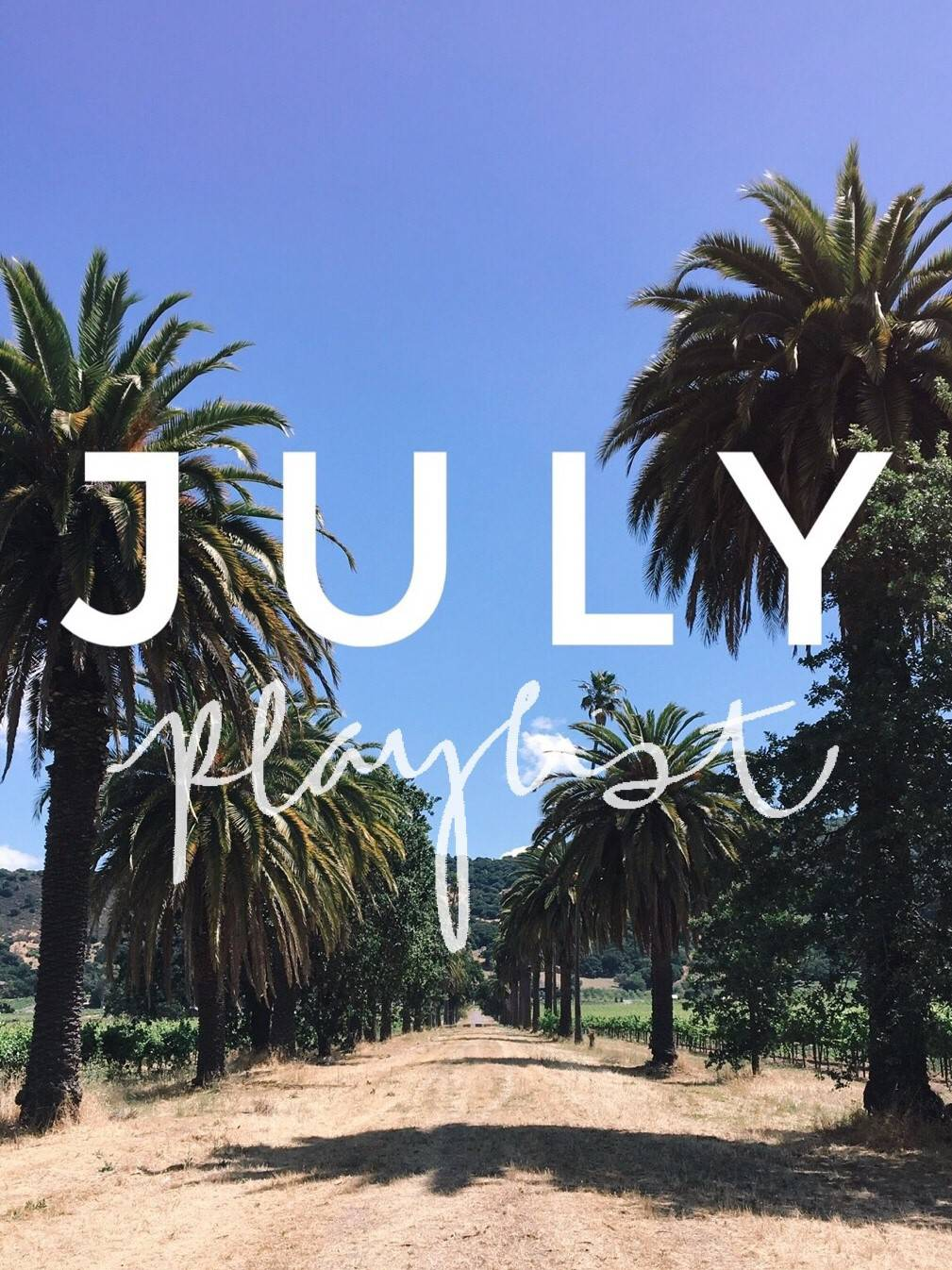 July Playlist | 10 Songs to Listen to this Summer