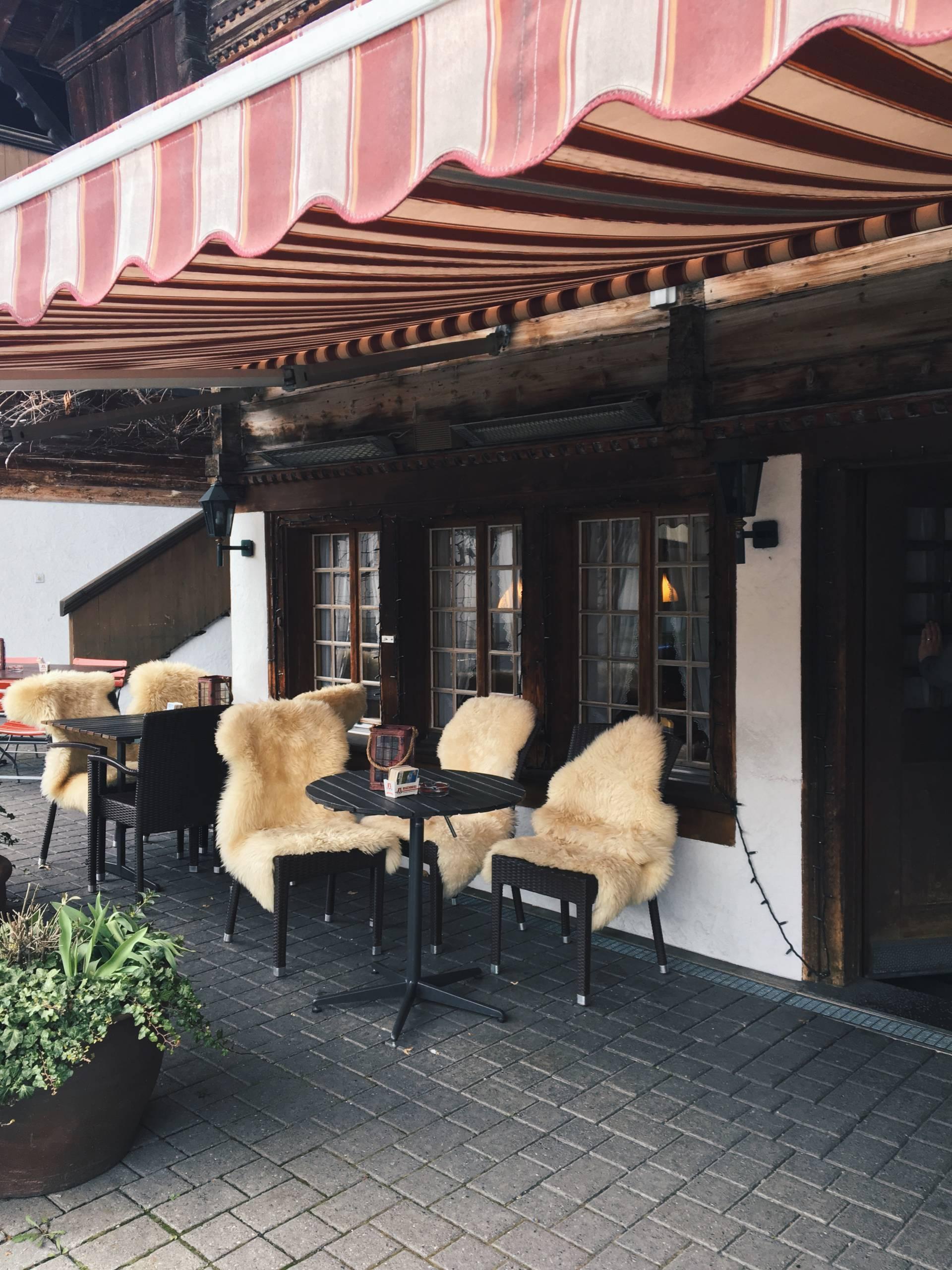 Swiss Fondue at Restaurant Bären Interlaken