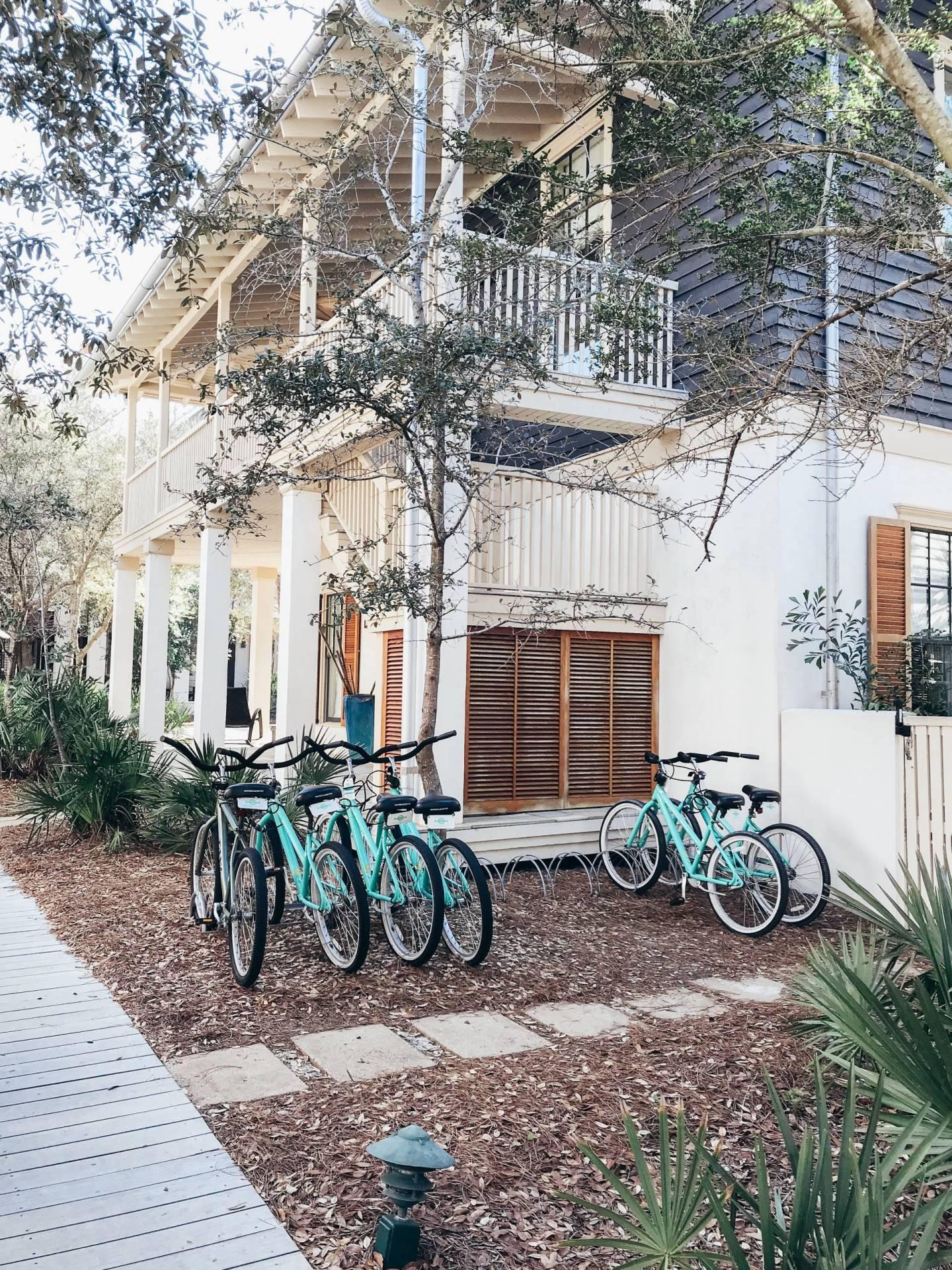 Bike Riding in Rosemary Beach 30A Florida