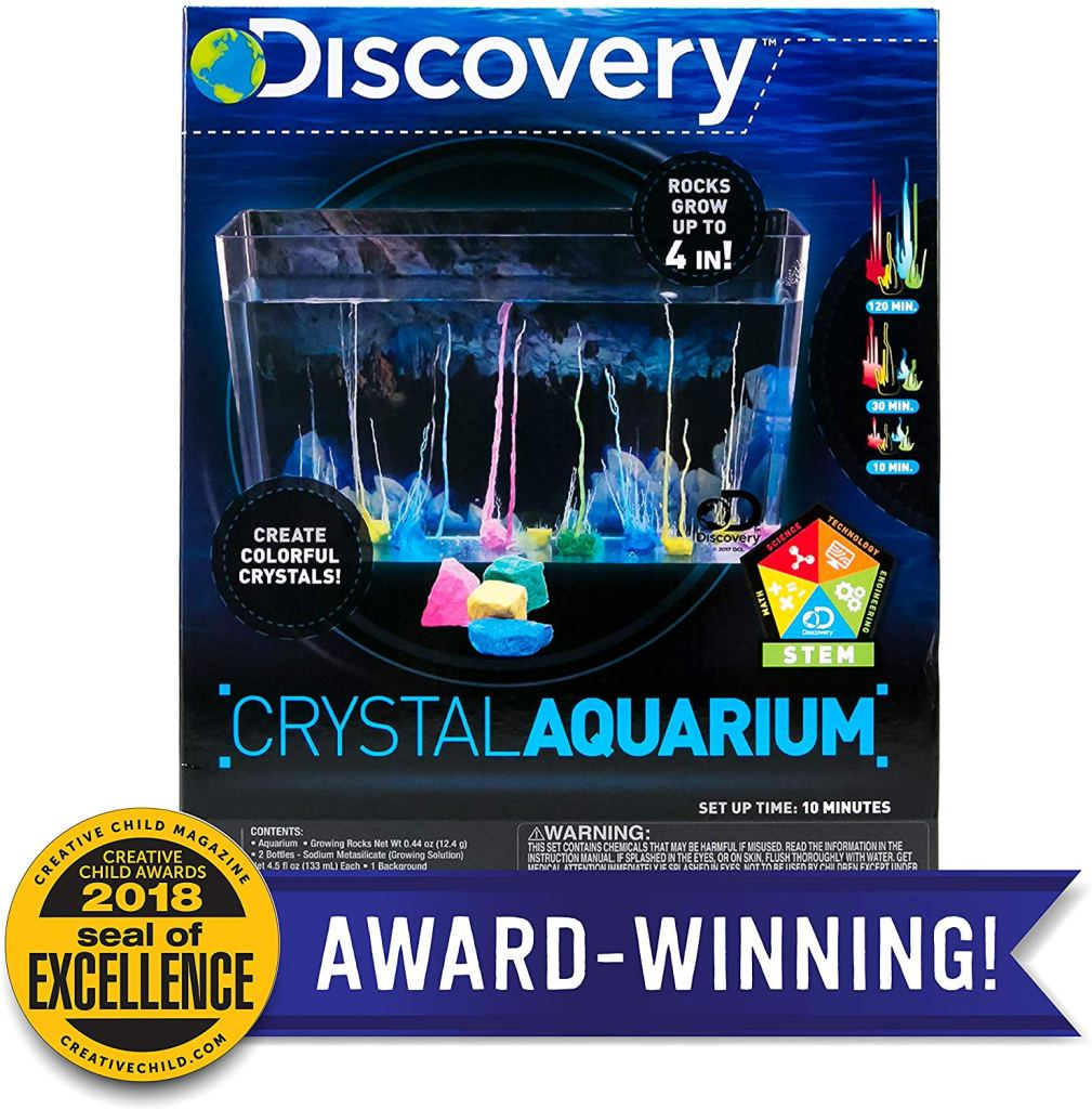 Discovery Crystal Growing Aquarium