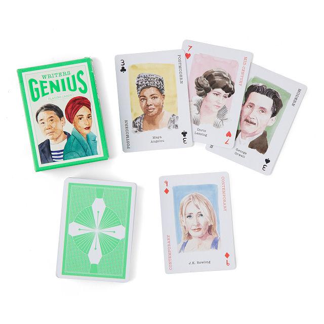 Writer Playing Cards