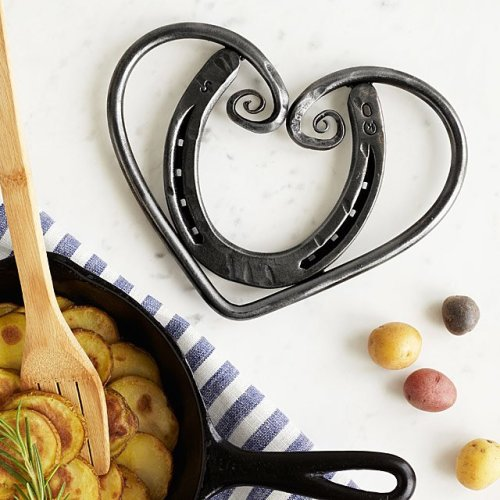 Horseshoe Heart Trivet - Valentine's Day Gifts for Her