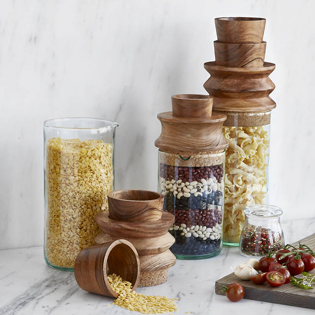 Measure and Store Canisters - Eco-Friendly Gifts | Low Waste Gift Ideas | Goldilocks Effect