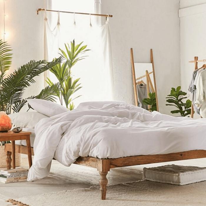 Bohemian Platform Bed - Boho Bedroom