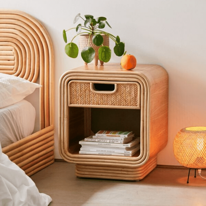 Ria Nightstand - Boho Bedroom