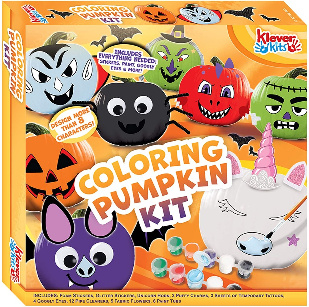 Halloween Coloring Pumpkin Kit