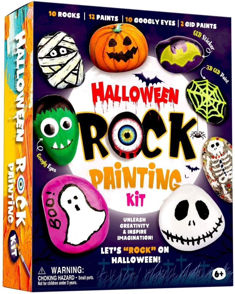 Halloween Rock Painting Kit