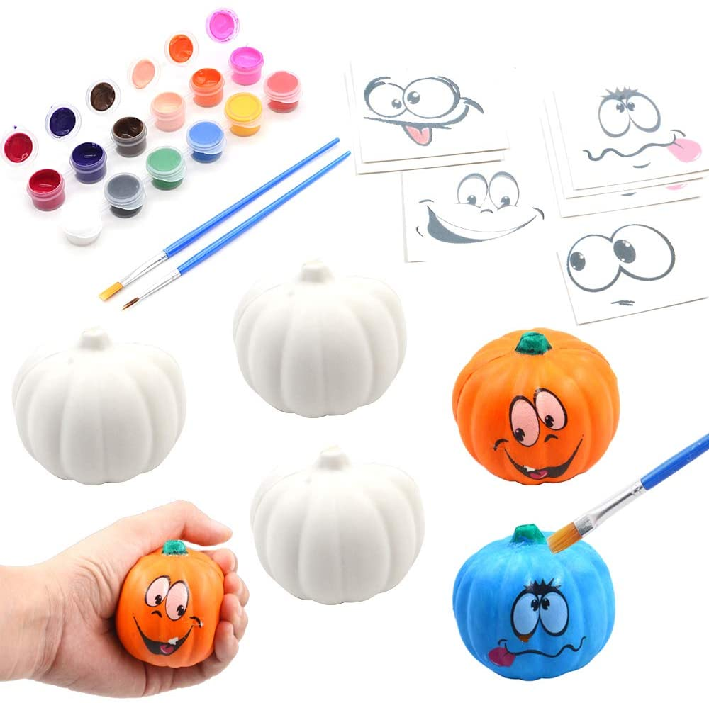 Paint Your Own Squishy Pumpkin 6 Pack