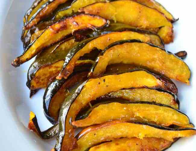Maple-Glazed Acorn Squash