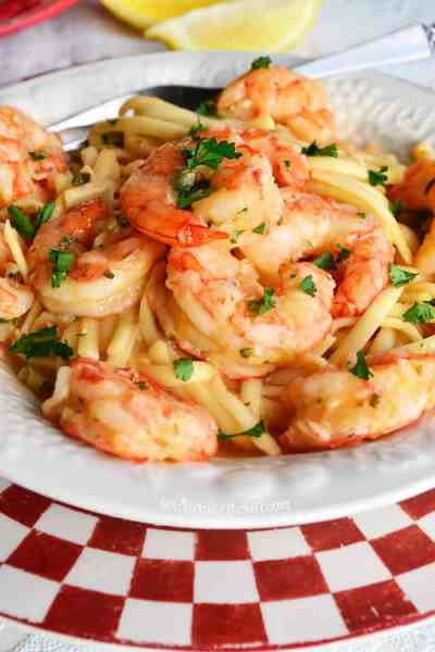 Linguine Shrimp Pasta