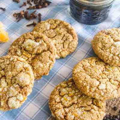 Orange-Spice Molasses Cookies