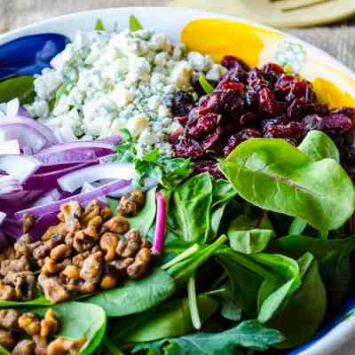Cranberry Pomegranate Salad