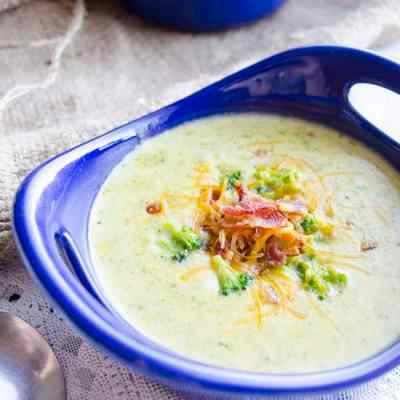 Creamy Broccoli Cheddar Soup
