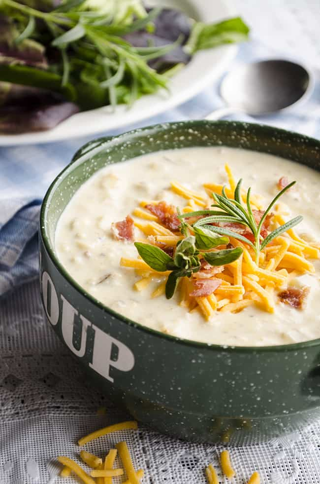 Slow Cooker Potato Chowder