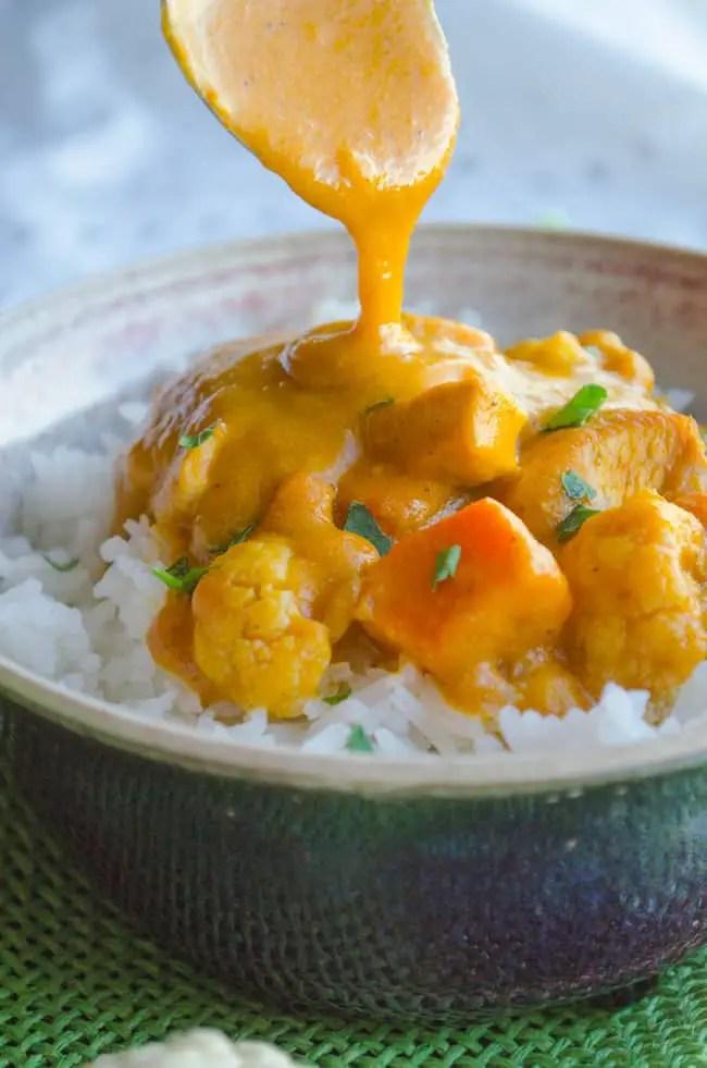 Coconut Pumpkin Curry Sauce
