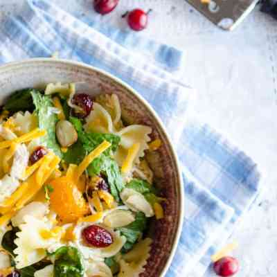 Chicken Bow Tie Pasta Salad