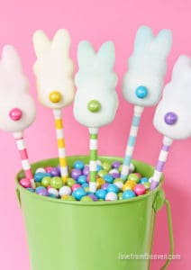 Little Peter Pearly Tails Easter Peeps pops