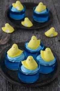 Swimming-Peeps-Jello-Cups