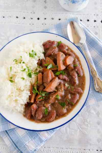 Red Beans And Rice In The Crockpot 3