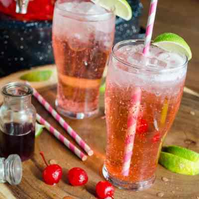 Old-Fashioned Cherry Limeade