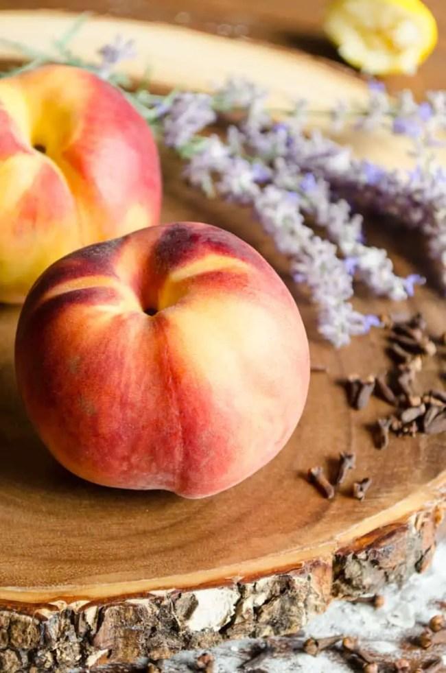 Simple Mini Peach Galettes