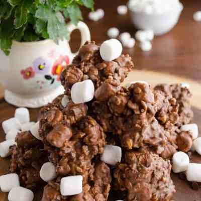 Rocky Road No Bake Cookies