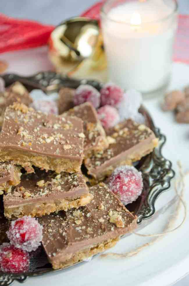 Homemade Almond Roca- The Goldilocks Kitchen