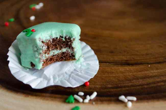 Easy holiday petits fours-The Goldilocks Kitchen